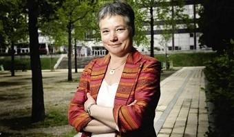Anne Paugam est la première femme à diriger l'AFD© Bruno Delessard/Challenges