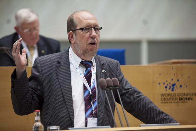M. Rainer Hinrichs-Rahlwes, président du Conseil européen de l'énergie renouvelable