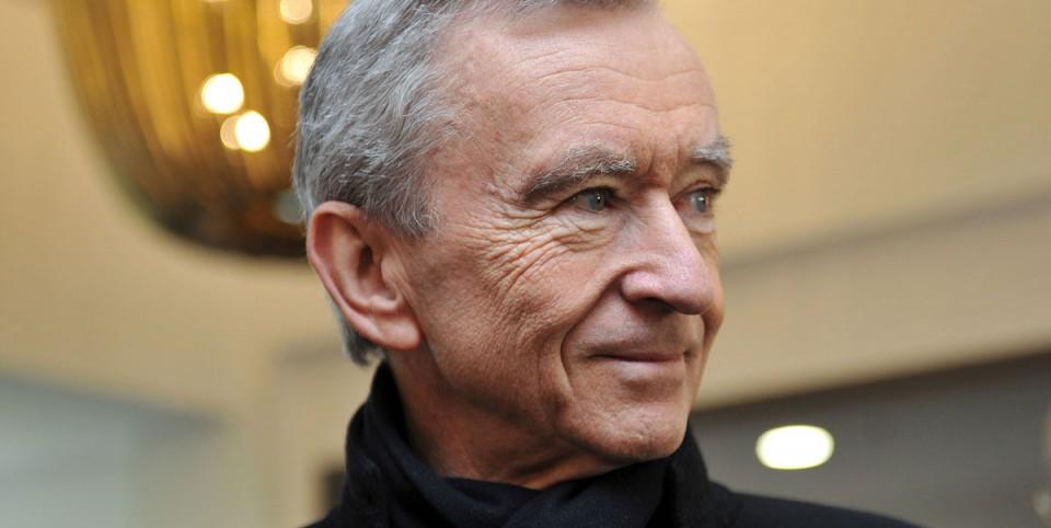 Portrait de Bernard Arnault, portrait du PDG de LVMH