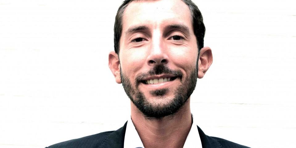 Portrait de Cédric Teissier lance l'affacturage en ligne