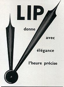 lip montres françaises