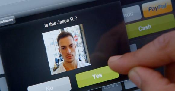 paiement mobile reconnaissance faciale