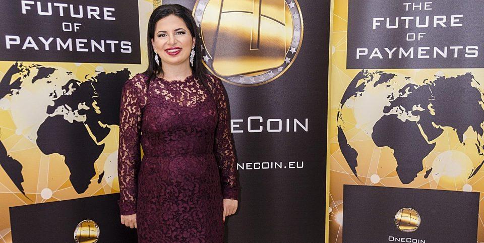 Portrait de Ruja Ignatova, fondatrice du OneCoin