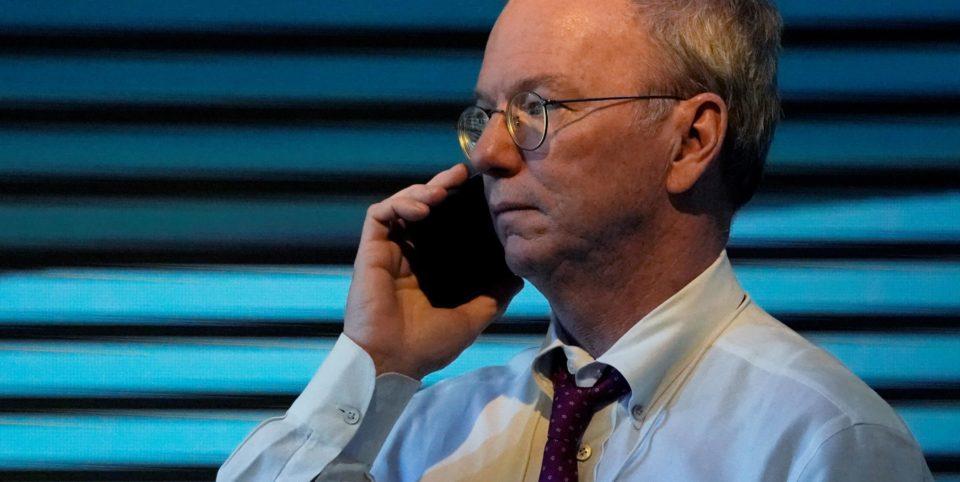 Portrait de Eric Schmidt: l'ancien patron de Google devenu conseiller du Pentagone